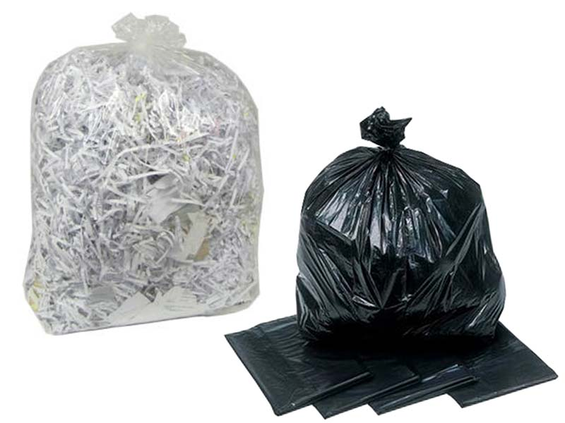 Cleaning - Black & Clear Refuse Bags