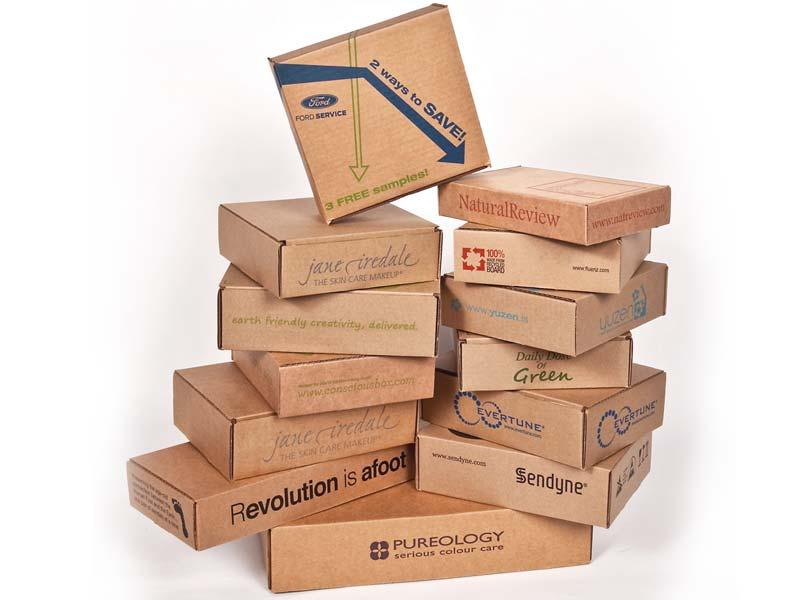 Corrugated Products - Die Cut Boxes