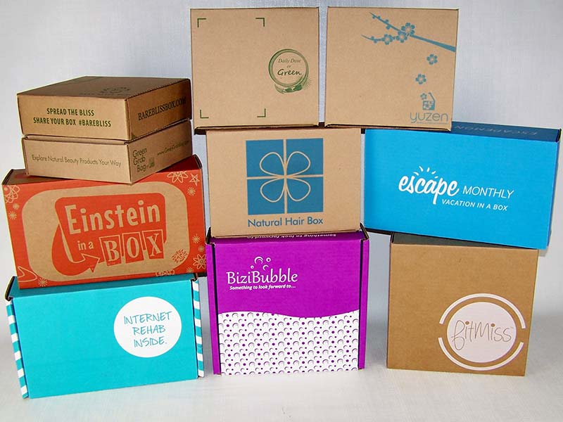 Corrugated Products - Printed Boxes