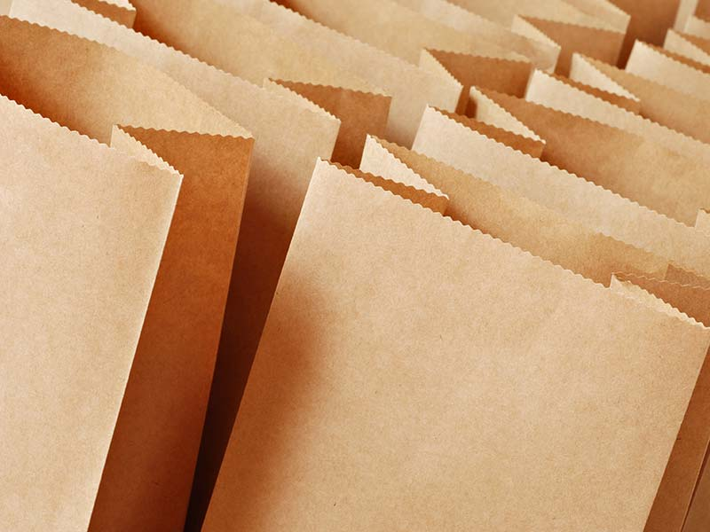 Food Packaging Brown - Paper bag