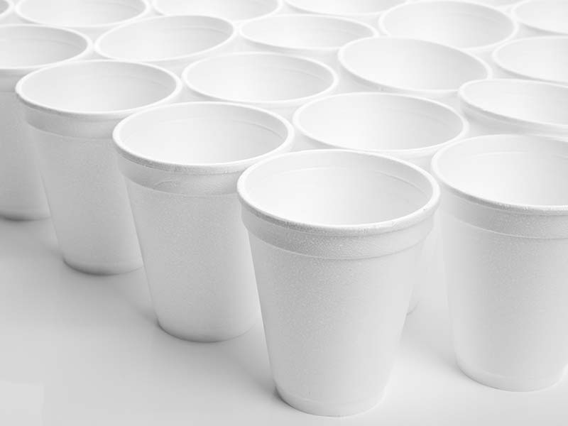 Food Packaging - Polystyrene Cups